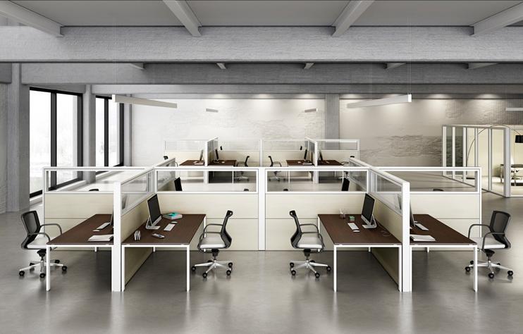 Lý giải sự phổ biến của mẫu bàn văn phòng có vách ngăn