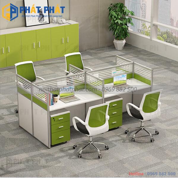 Bàn văn phòng có vách ngăn - Sản phẩm nhiều tiện ích - 2