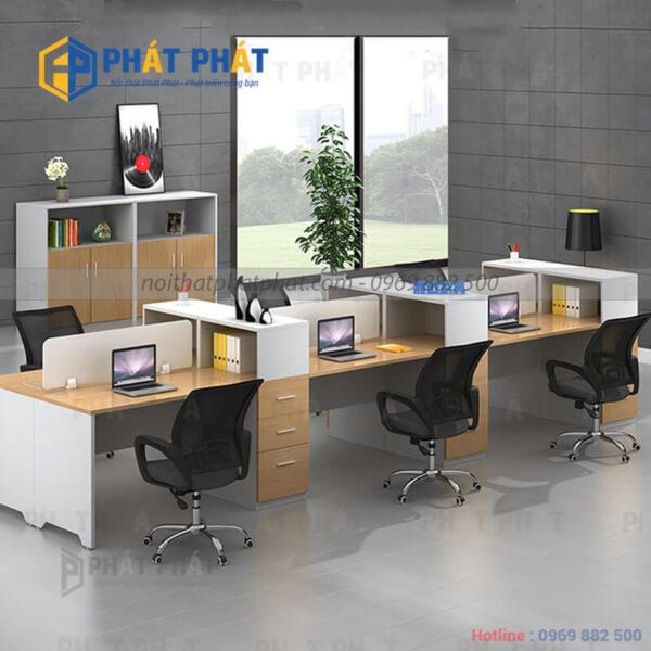 Bàn văn phòng có vách ngăn - Sản phẩm nhiều tiện ích - 1