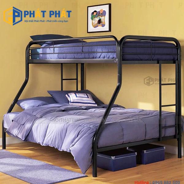 Giường tầng sắt khắc phục những bất cập của những mẫu giường cũ